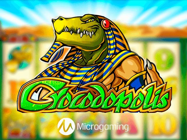 слот Crocodopolis